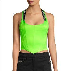 Siobhan Green Corset Top - I am Gia